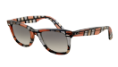 Ray-Ban Special Edition Original Wayfarer Blocks three-demensional red-beige, Grey
