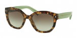 Prada 12SS Spotted Brown Green/ green gradient grey