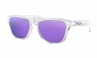 Oakley Frogskins XS  (extra small) Polished Clear/ Violet Iridium