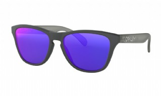 Oakley Frogskins XS (extra small) Matte Carbon Grey/ Red Iridium
