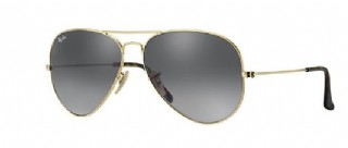 Ray-Ban Aviator Havana Collection Gold/ Grey Gradient