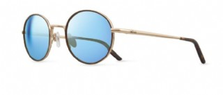 Revo Brayton / Gold Brown/  Blue iridum Polarized
