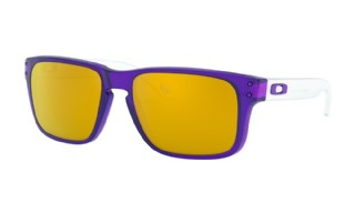Oakley Holbrook XS (extra small) Translucent Purple/ 24K Iridium