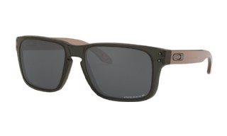 Oakley Holbrook XS (extra small) Translucent Grey Smoke/ Prizm Black Polarized