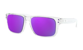 Oakley Holbrook XS (extra small) Polished Clear/ Violet Iridium