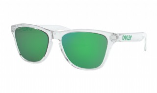 Oakley frogskins XS (extra small) Polished Clear/ Prizm Jade