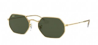 Ray-Ban Octagonal Legend Gold/ Classic G15 Gold Icon