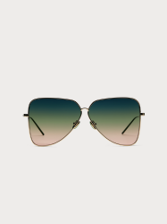 Scotch & Soda Vegas Gold/ Green Gradient Lens