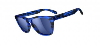 Oakley Frogskins Collectors Edition Acid Tortoise Blue/ Blue Iridium