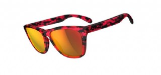 Oakley Frogskins Collectors Edition Acid Tortoise Pink/ Ruby Iridium