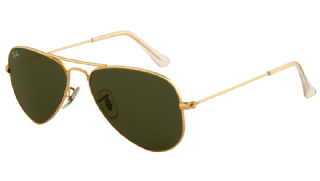 Ray-Ban Aviator Small Metal Arista/ Green