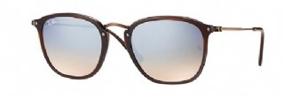 Ray-Ban 2448N Brown/ Silver Gradient Flash