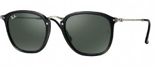 Ray-Ban 2448N Black Silver/ G15 Green