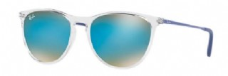 Ray-Ban Junior Izzy Clear/ Blue Gradient Flash