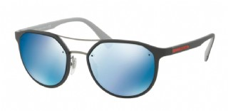 Prada 55SS Dark Grey/ Light Grey/ Dark blue mirror