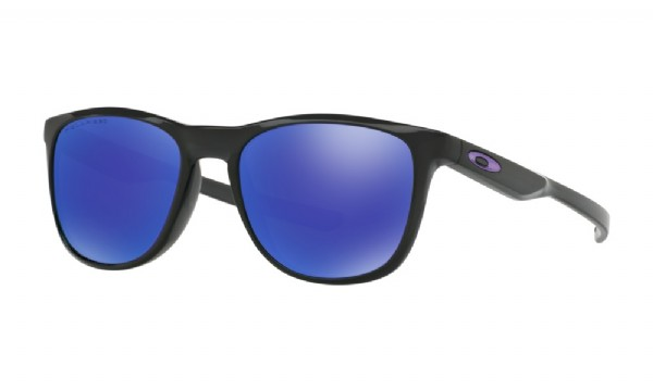 Oakley Trillbe X Polished Black/ Violet Iridium Polarized