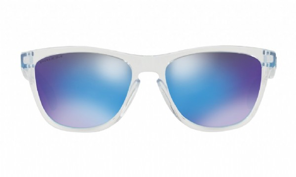 Oakley Frogskins Crystal Clear/ Prizm Sapphire Iridium